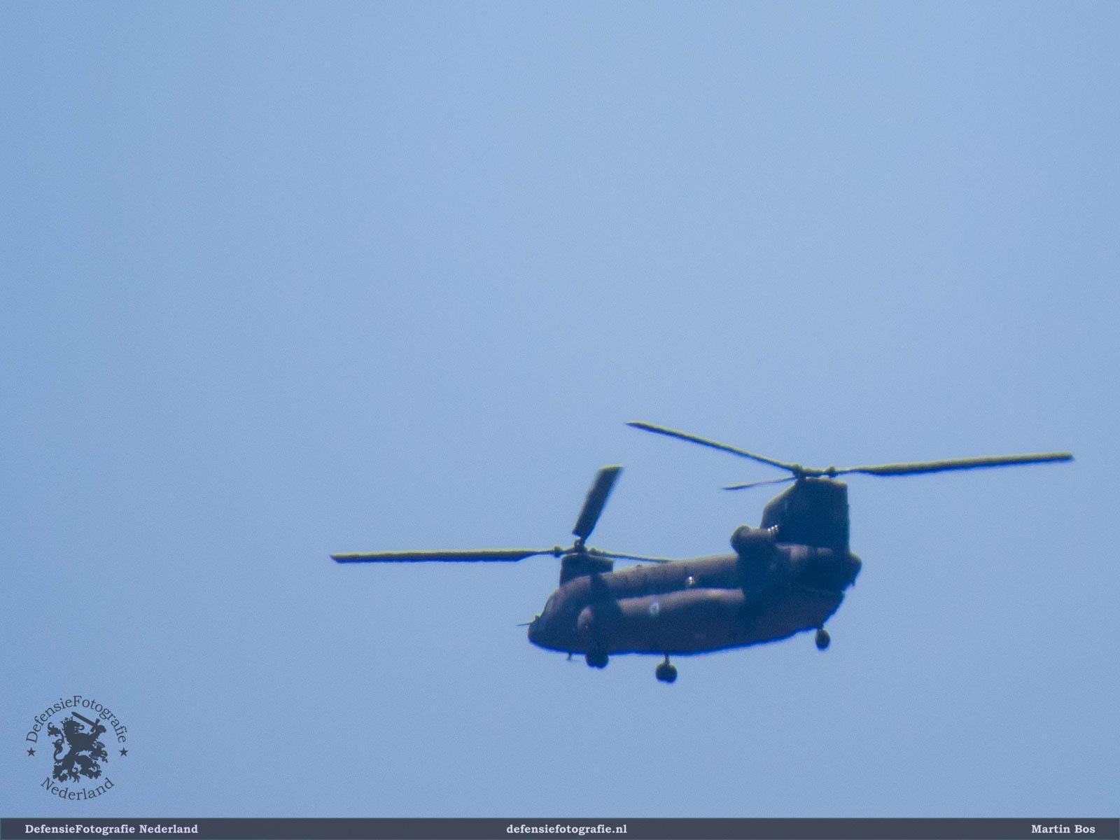 CH-47 over Kos