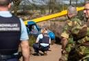 Marechaussee helpt bij vliegtuigongeluk