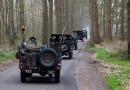 Rijden door de bossen