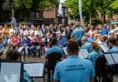 KMar orkest speelt voor publiek