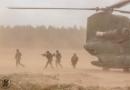 Chinook boordschutters in actie